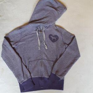 Victoria's Secret PINK purple hoodie